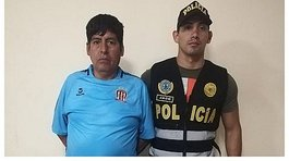 Capturan a un requisitoriado por delito de extorsión