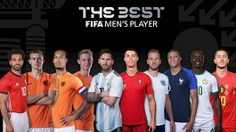 Messi, Ronaldo y los candidatos del premio The Best al mejor futbolista