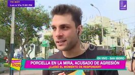 "Nicola Porcella sobre video en discoteca: ""Mi falta de respeto no fue contra Angie Arizaga"" (VIDEO)"