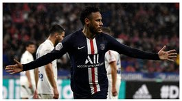 ​Neymar fue agredido durante el Olympique Lyon vs PSG (VIDEO)