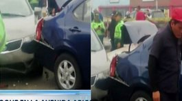 Breña: reportan múltiple choque vehicular en Av. Tingo María (VIDEO)