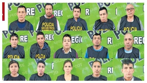 "Capturan a 19 integrantes de la red criminal ""Los Monos de San Antonio"""