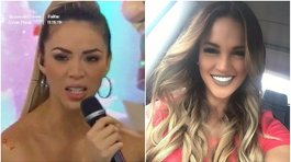 Angie Arizaga le hace desplante a Sheyla Rojas en vivo (VIDEO)