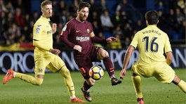Lionel Messi pasó entre dos defensas y marcó golazo al Villarreal (VIDEO)