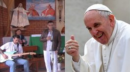 ​Papa Francisco: Internos saldrán de penal para cantarle en misa (VIDEO)