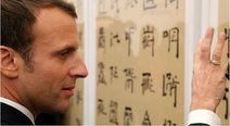 ​Emmanuel Macron causa sensación en China al intentar hablar en mandarín (VIDEO)