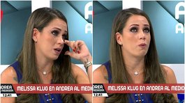 Melissa Klug llora al recordar triste episodio familiar (VIDEO)
