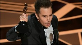 Sam Rockwell ganó el Óscar a mejor actor de reparto (VIDEO)