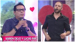 'Carloncho' y Lucas Piro se reencuentran en vivo tras incidente del pasado (VIDEO)
