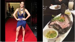 Melissa Klug: polémica por animal vivo servido en su plato (VIDEO)