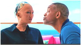 Will Smith debuta en YouTube con cita romántica junto a una robot pero es rechazado (VIDEO)