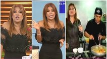 Magaly Medina discute en vivo con chef por no revelar sus 'secretos de cocina' (VIDEO)