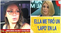 Evelyn Vela contó que fue agredida por Melissa Klug en una discoteca (VIDEO)