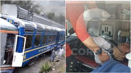 Choque de trenes en Machu Picchu dejó 16 heridos (VIDEO y FOTOS)