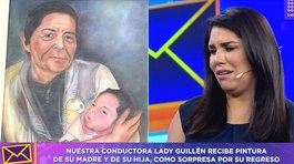 Lady Guillén rompe en llanto al ver emotiva sorpresa por su regreso al programa (VIDEO)