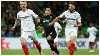 ​Krasnodar, con Christian Cueva, derrotó 2-1 a Sevilla en la Europa League (VIDEO)