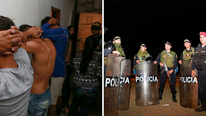 Capturan a 39 integrantes de banda 'Los Piratas del Puerto Pizarro' en Tumbes (VIDEO)