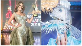 Miss Grand International 2018: Miss peruana ganó premio por peculiar traje de pez (VIDEO)
