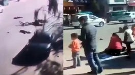 China: Cinco niños muertos y 19 heridos en atropello (VIDEOS)