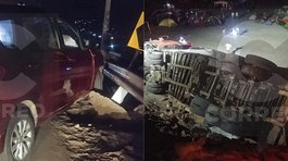 Triple choque dejó varios heridos cerca a playa León Dormido (FOTOS Y VIDEO)