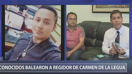 Desconocidos dispararon a regidor de Carmen de La Legua (VIDEO)
