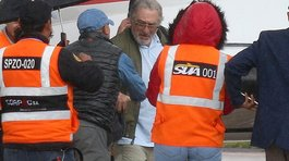 Robert De Niro llegó a Cusco en un avión privado (VIDEO)