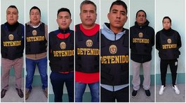 7 policías acusados de integrar banda criminal (VIDEO)