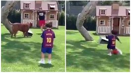Lionel Messi se vuelve viral por video que revela curioso secreto de sus hijos (VIDEO)